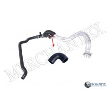 (11537584630) BMW COOLING HOSE EXCLUDING METAL PIPE HOSE SHOWN WITH ARROW