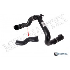 (1302531 GM 13257587 1302278 GM 23163579 1302253 GM 22865158) OPEL TURBO HOSE EXCLUDING PLASTIC PIPE BIG HOSE SHOWN WITH ARROW